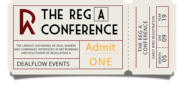Early Bird Registration - The Reg A Conference 2019